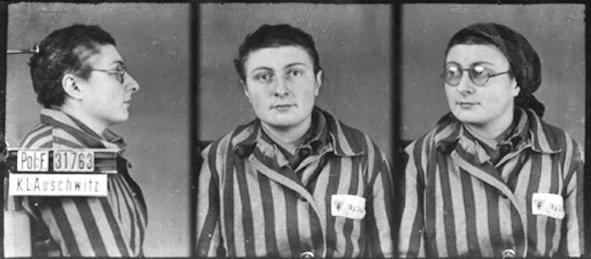 Besseyre-Tressard Antoinette à Auschwitz